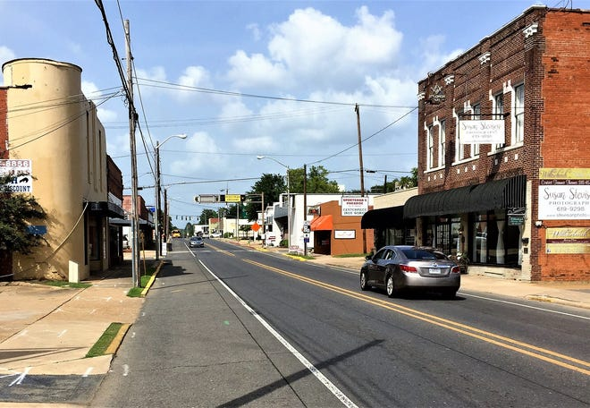 Main Street used to be the commercial center of Pineville. City officials hope to see it revitalized.