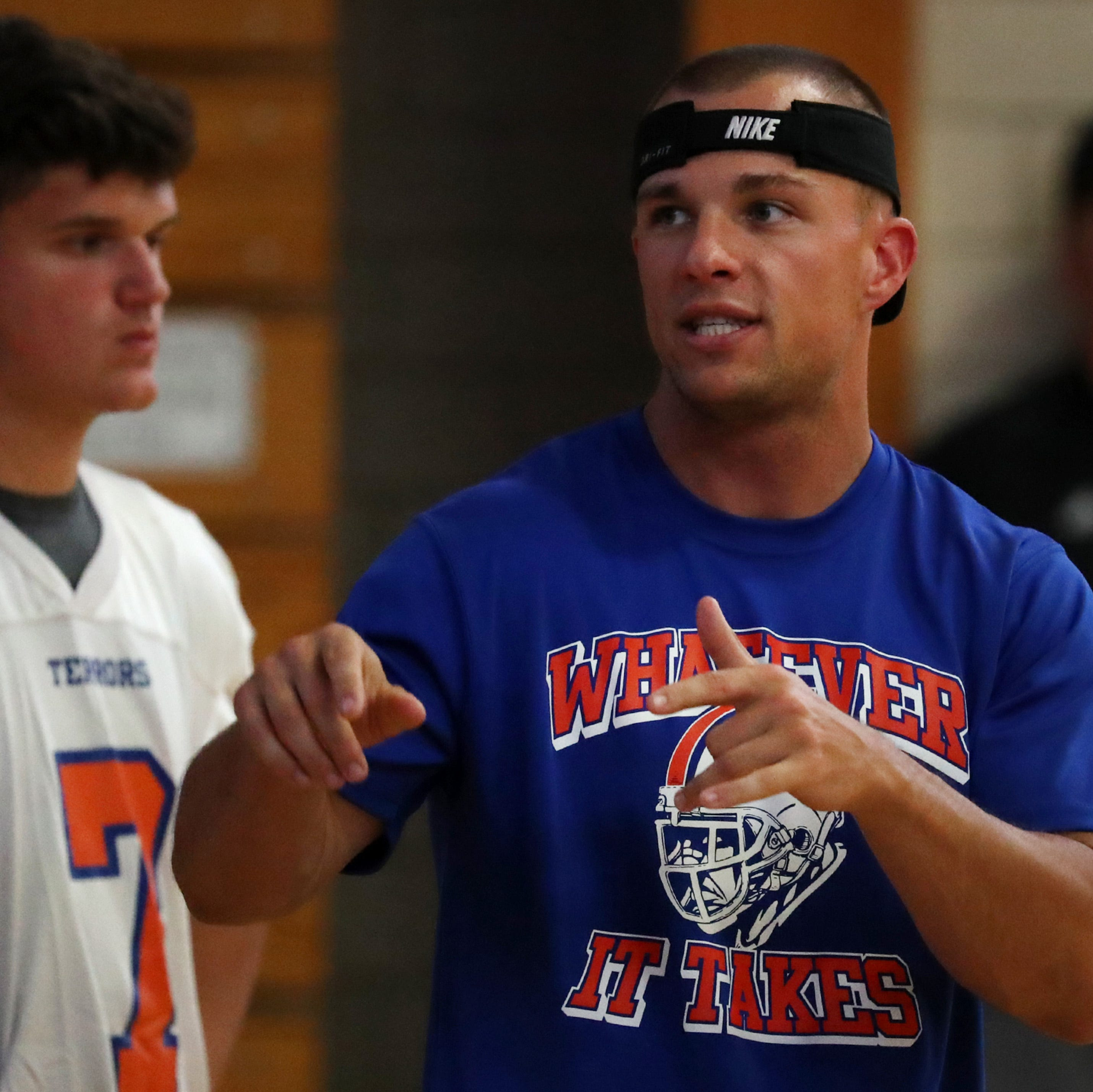 Appleton West coach brings energy to new job