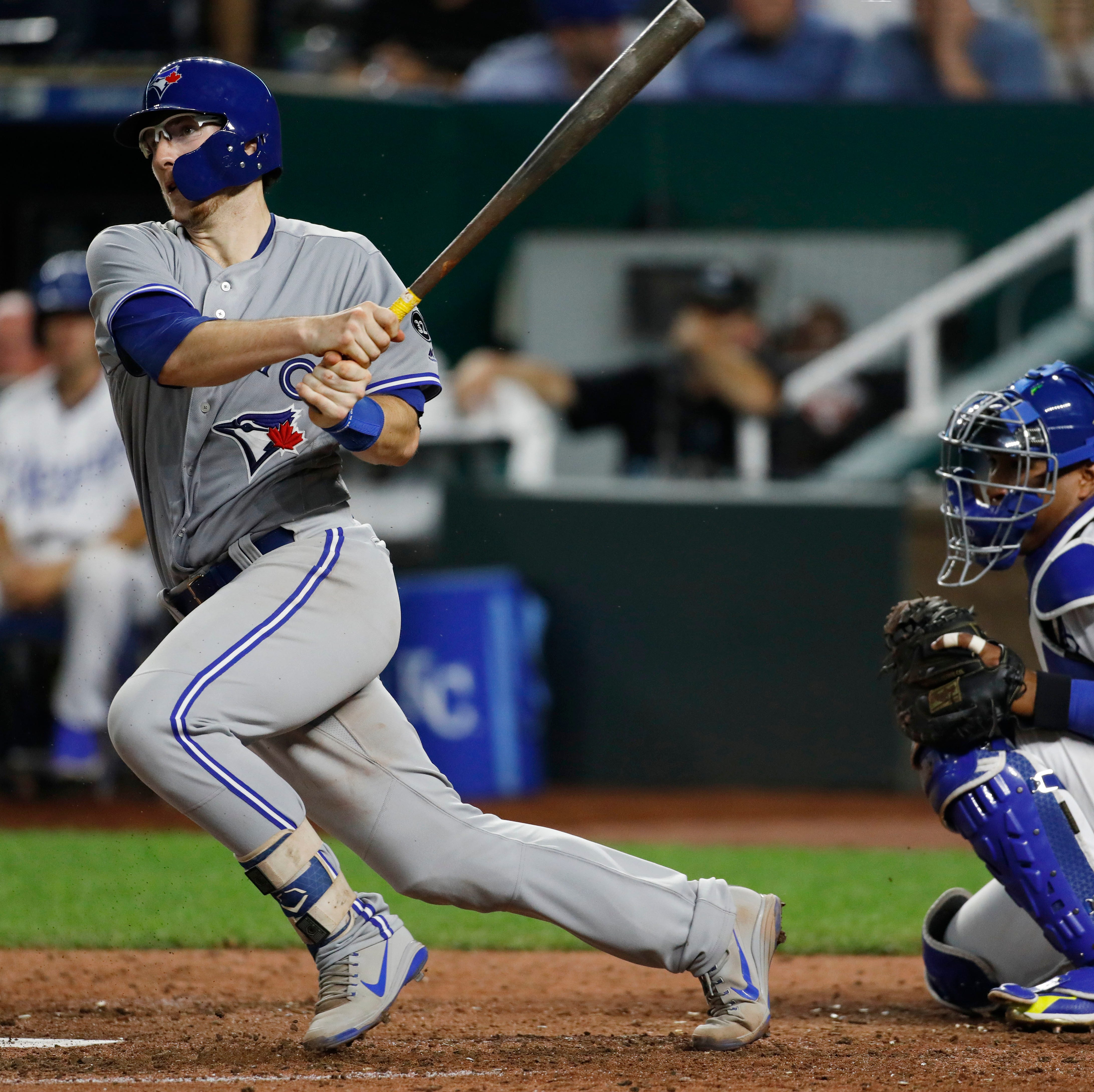 Danny Jansen of Appleton West collects two hits in first major league game