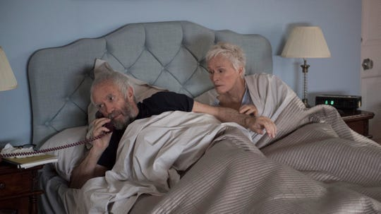 "Jonathan Pryce as Joe and Glenn Close as Joan in ""The Wife."""