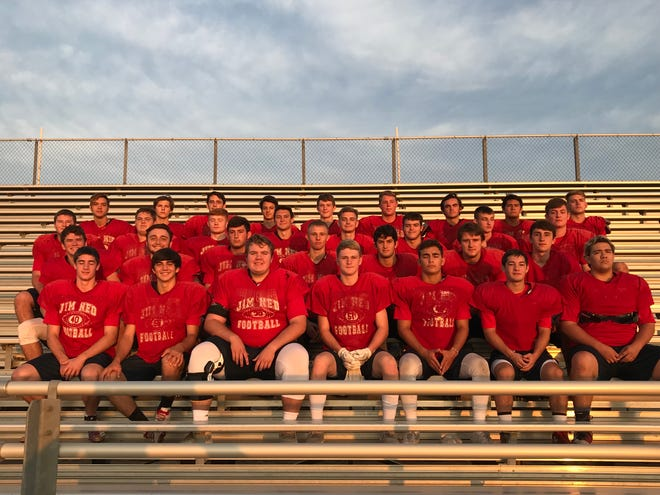 The 2018 Jim Ned High football team.