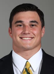 Baylor linebacker Clay Johnston