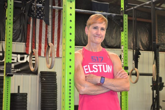 Just years after being diagnosed with breast cancer, Battle Creek-area elite-level athlete Linda Elstun, 54, finished third in her age group at the recent CrossFit Games in Wisconsin.