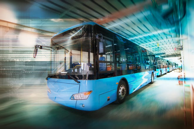 Hybrid electric buses couple traditional fuel engines with electric propulsion systems