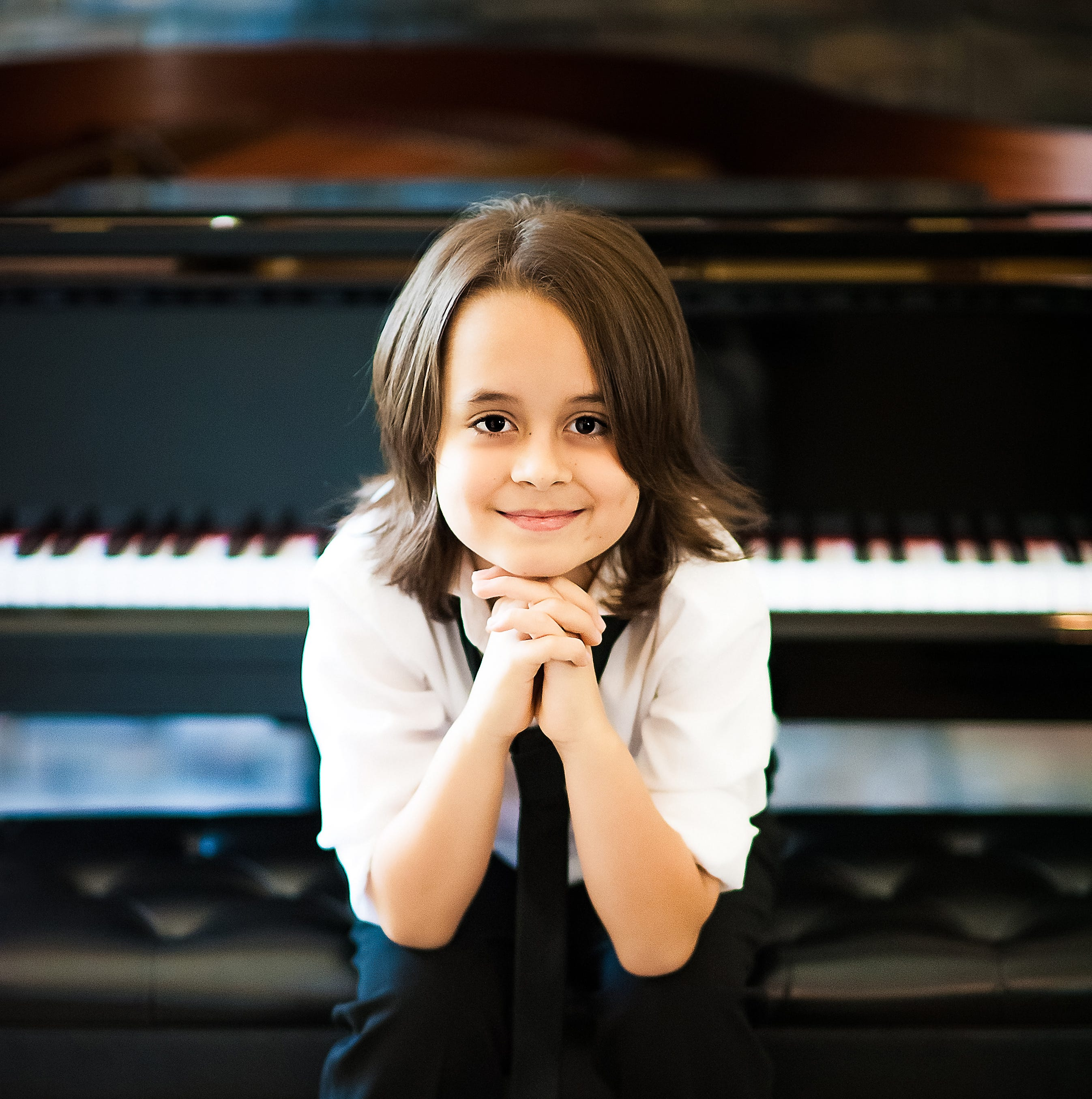 Ten-year-old piano wizard Jacob Velazquez is guest artist at the Aug. 26 debut of the Music on the River series.