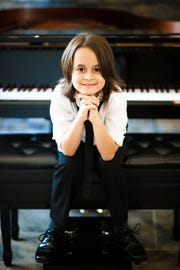 11-year-old pianist Jacob Velazquez will perform  at the Scott Center, 5625 Holy Trinity Drive, at 7 p.m. Saturday, Feb. 2.