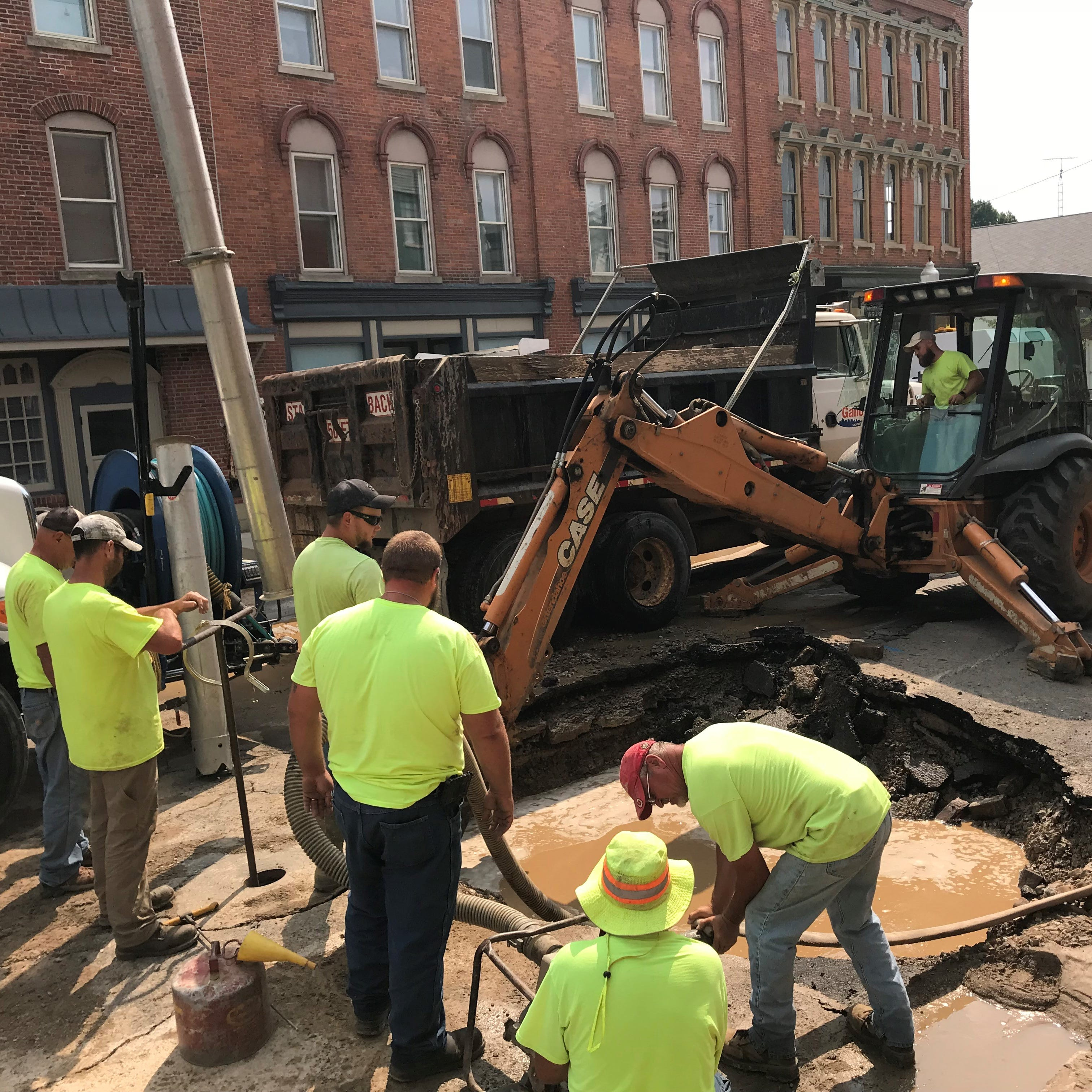 Boil advisory remains in effect for some Galion residents after water line break