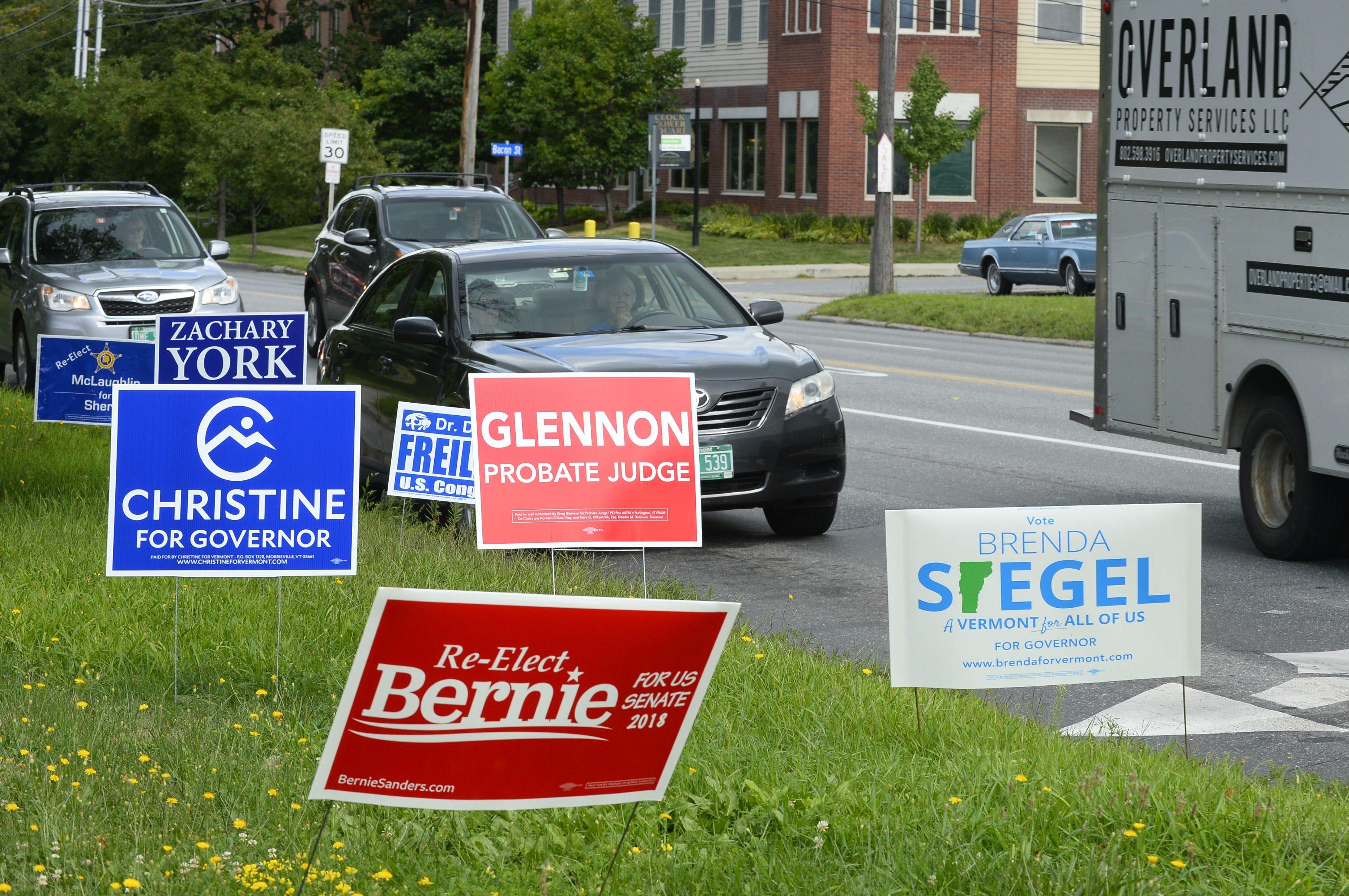 Vermont governor's race: Christine Hallquist, Phil Scott win primaries
