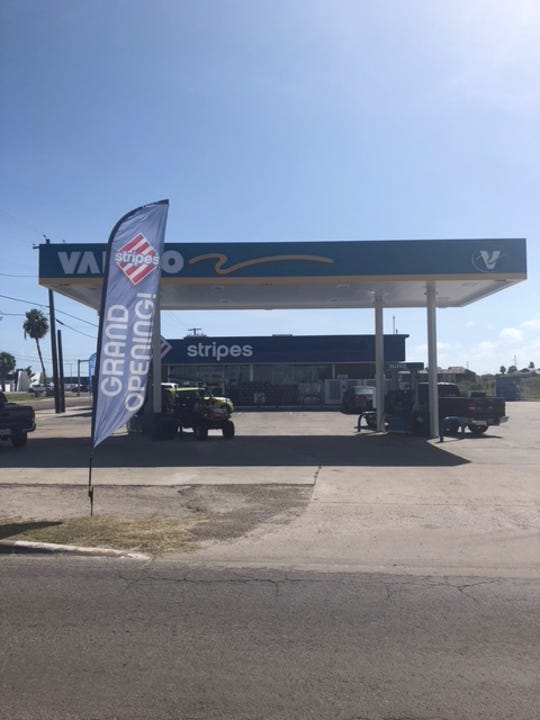 A Stripes Convenience Store on East Cotter Avenue reopened on Tuesday, Aug. 14, 2018. The store was severely damaged by Hurricane Harvey on Aug. 25, 2017.