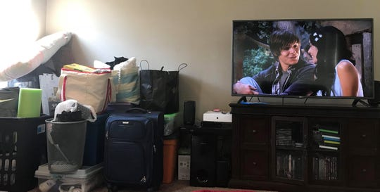 With her college packing finished, Meghan decides to take in High School Musical for old time's sake.