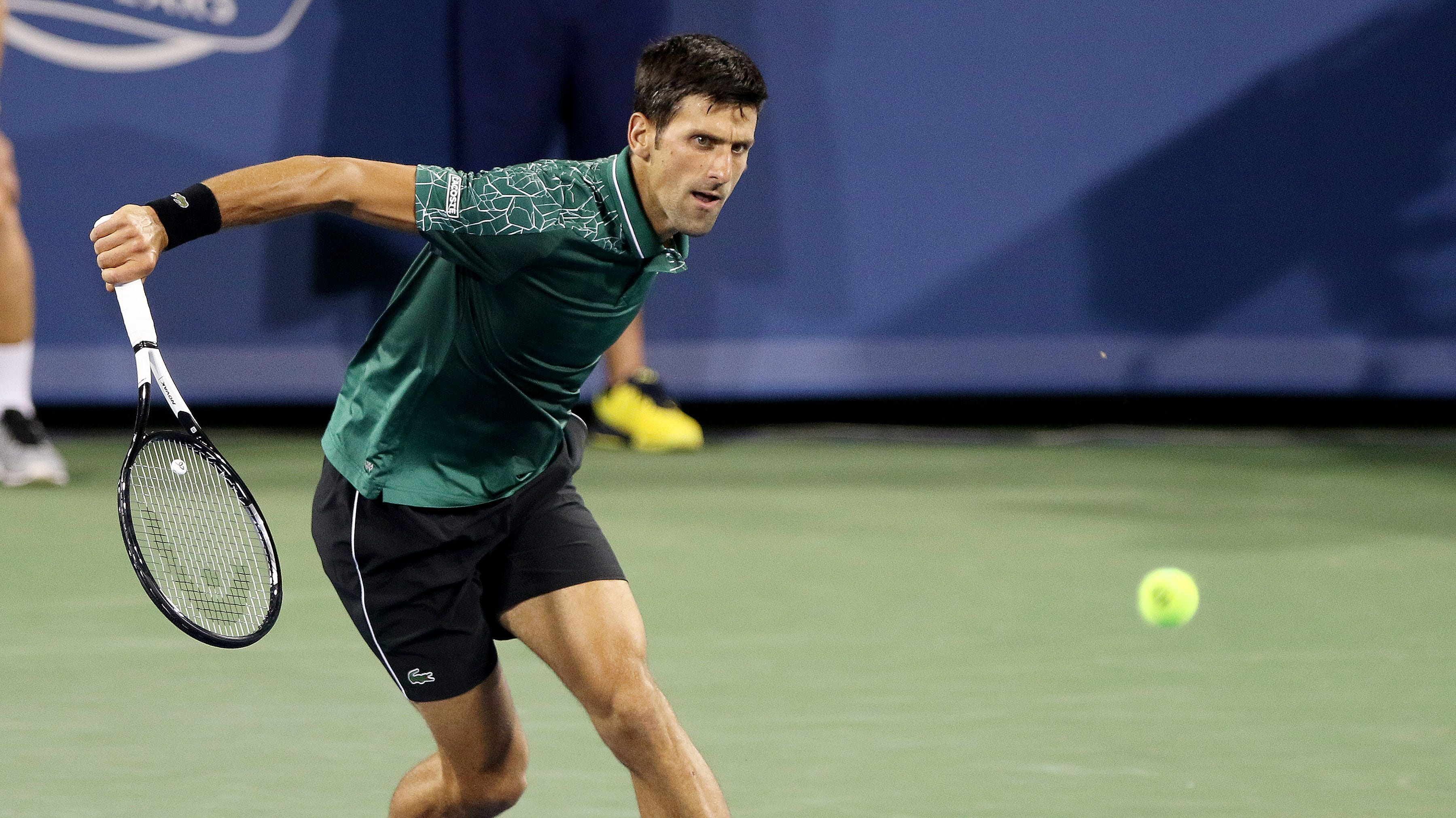 Novak Djokovic outlasts American Steve Johnson at W&S Open