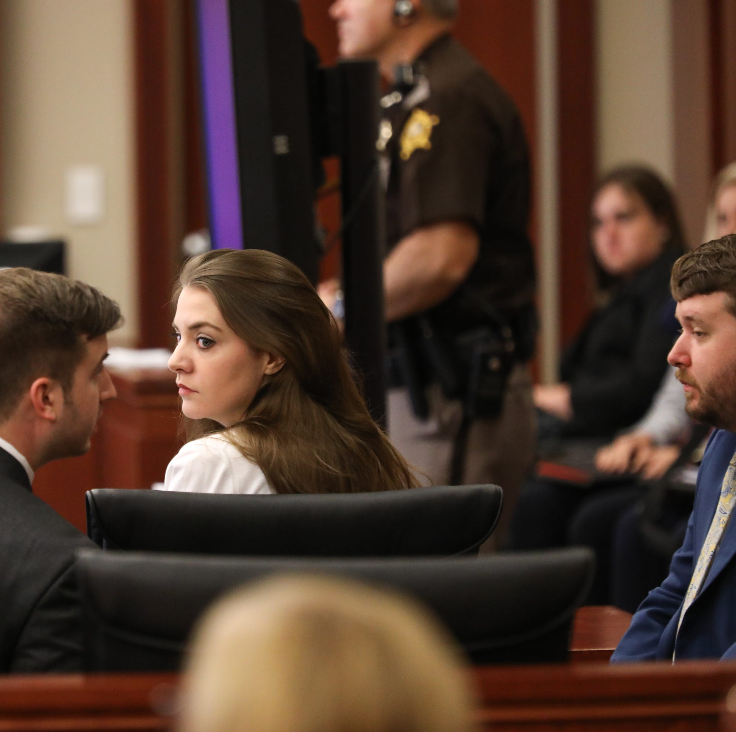 Shayna Hubers retrial: Jurors shown 'gave him the nose job he wanted' police station video