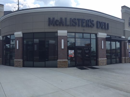 McAlister's Deli opened in Anderson Township earlier this year.