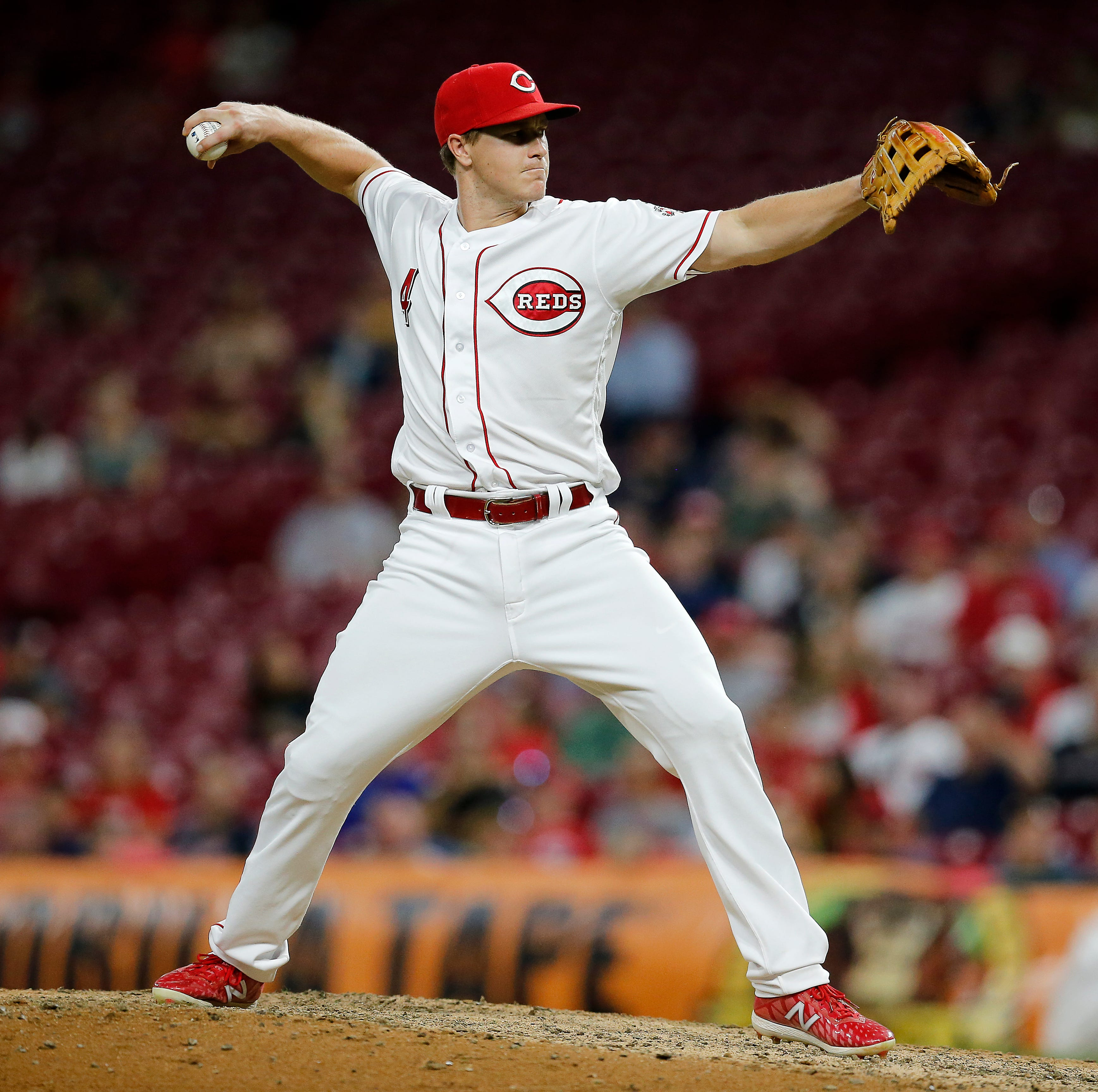 Brandon Dixon strikes out Jose Ramirez in Cincinnati Reds loss to Cleveland Indians