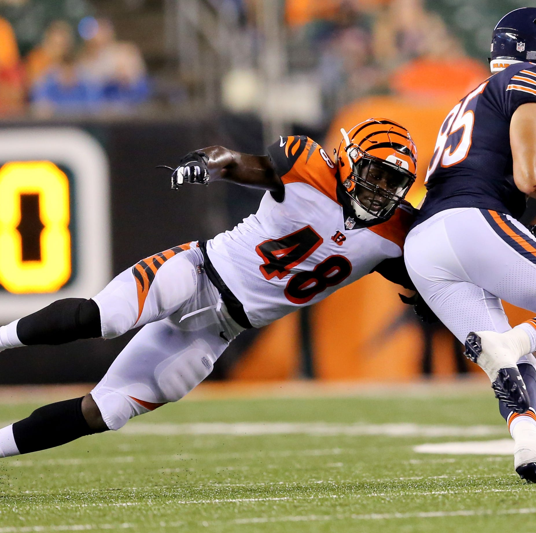 Undrafted linebackers hoping to continue lineage with Cincinnati Bengals