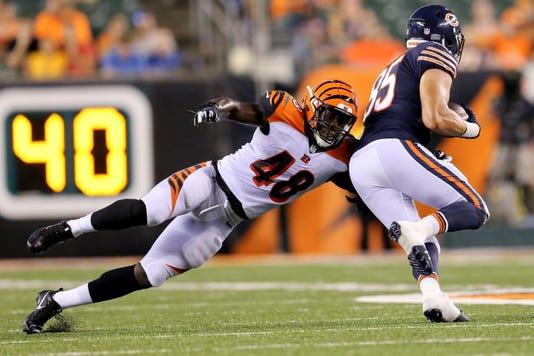 080918 Bengals Ke Chicago Bears At Cincinnati Bengals Preseason Game Week 1