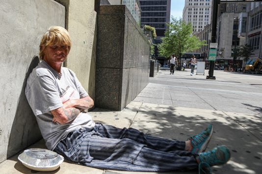 what cincinnati residents businesses think of city s homeless problem