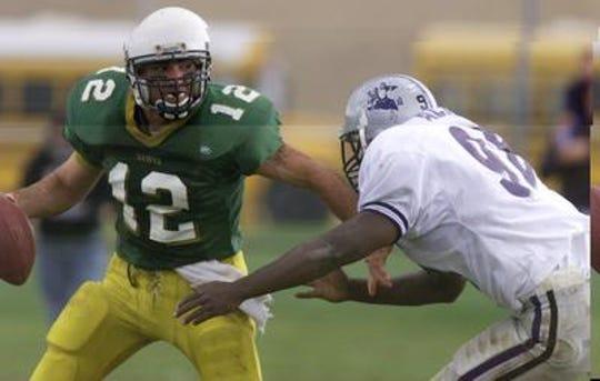 Mike Maffucci Jr. played quarterback for J.P. Stevens' 2001 sectional championship team