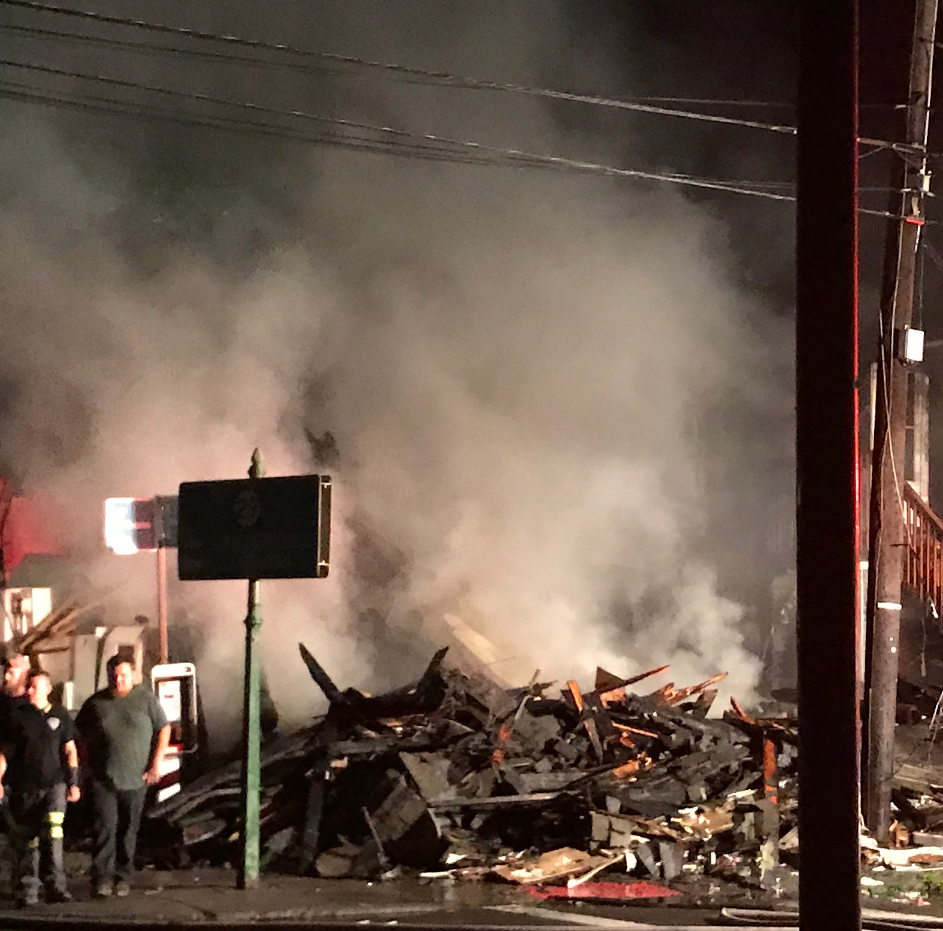 Frenchtown continues to rebuild after fire that destroyed two buildings