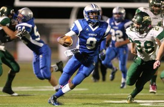 Isaiah Cureton starred on Sayreville's undefeated 2012 team.