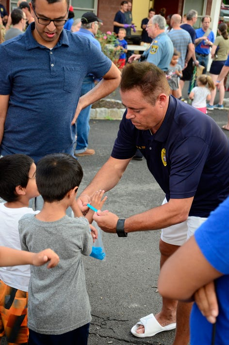 National Night Out in Fanwood PHOTO CAPTION