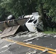 South Brunswick roadways close following storm, truck crash