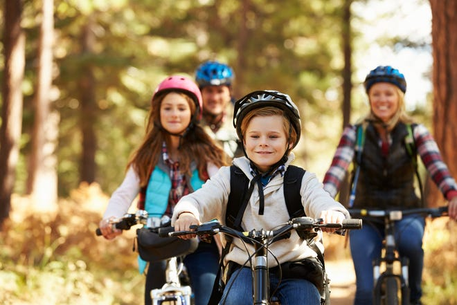 Families will enjoy mountain biking together before the kids head back to school and once they do, perhaps even more so in the cooler, more scenic fall months.