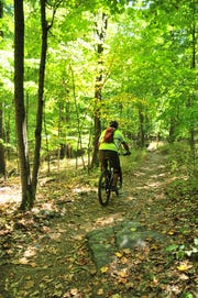 The Sourland Mountains offer some biking thrills for experienced riders.