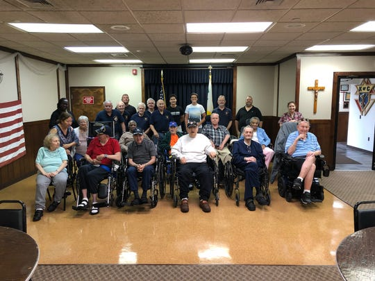 A Veterans luncheon was held on Aug. 11 for more than 20 veterans from the Menlo Park Veterans Home who served in World War II, the Korean and Vietnam Wars.
