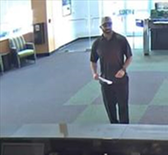 Police are looking to identify this man in connection with robbery of a TD Bank in Warren last Saturday.