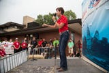 Gov. Kim Reynolds says Iowa is No. 1 in several areas, touting the positive aspects of this state during her speech at the Register Political Soapbox.