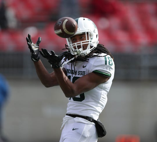 Wide receivers: Michigan State: Nebraska brings back two of the top producers from a year ago, but Michigan State's trio of Felton Davis, Darrell Stewart and Cody White are all back for Brian Lewerke. That's more than 1,700 yards and 15 touchdowns. Davis is a monster.