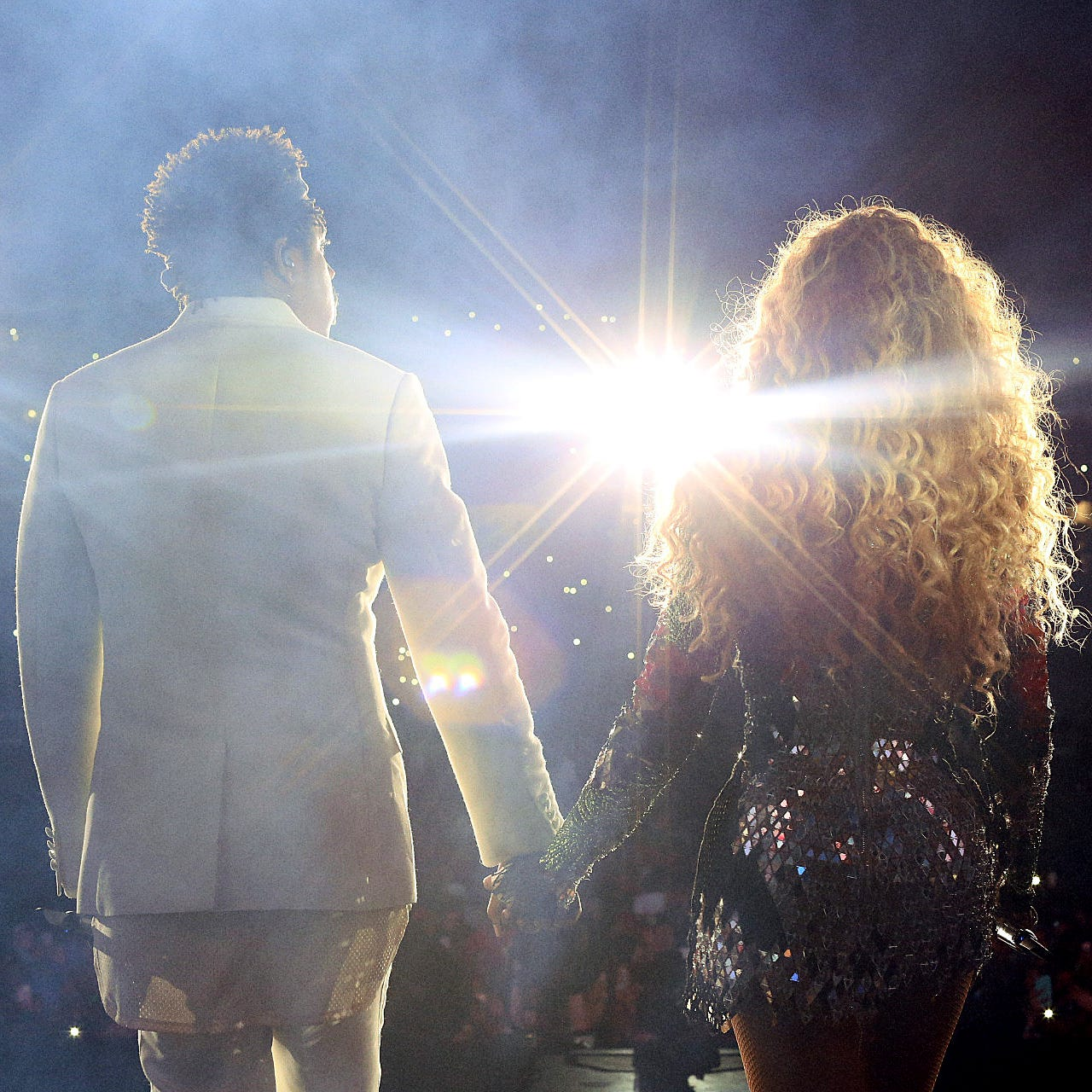 Beyoncé and Jay-Z make intimacy larger-than-life at Ford Field