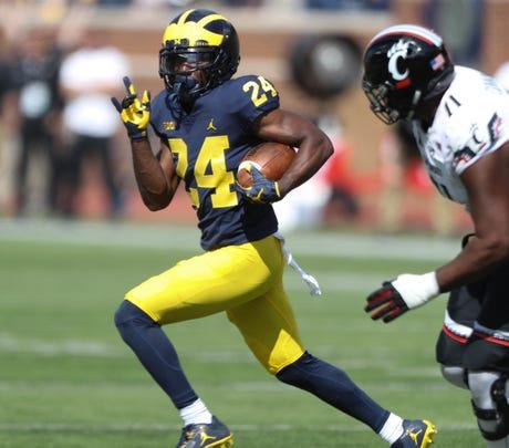 Michigan junior cornerback Lavert Hill could be an NFL Draft pick next spring.