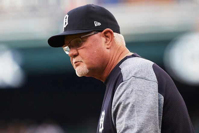 Tigers manager Ron Gardenhire before the game against the Chicago White Sox on Monday, Aug. 13, 2018, at Comerica Park.