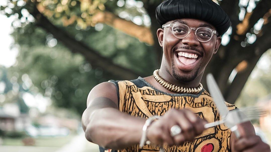Detroit Black Restaurant Week organizer Kwaku Osei-Bonsu.
