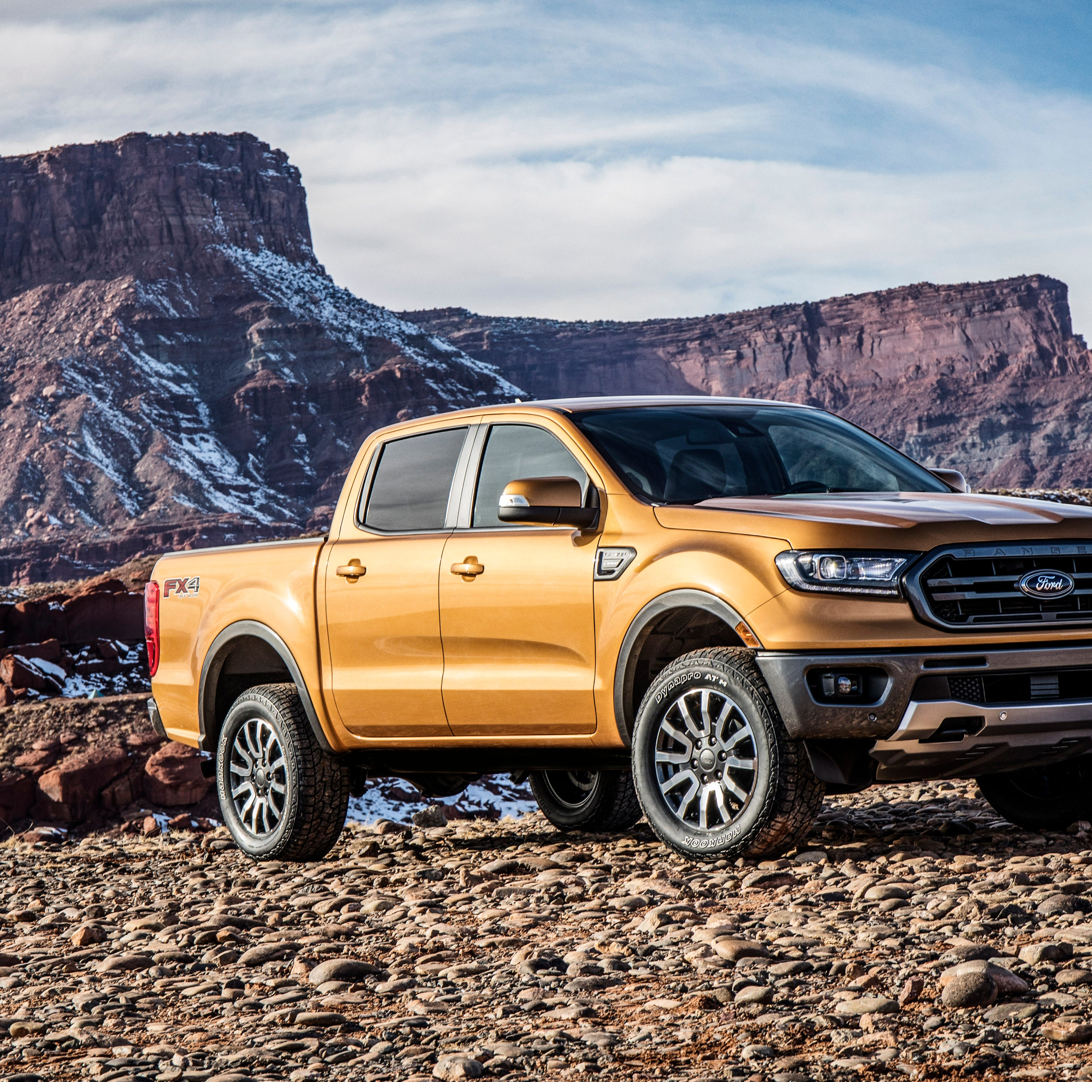 At $24,300, '19 Ford Ranger starts above Chevy Colorado, below Toyota Tacoma