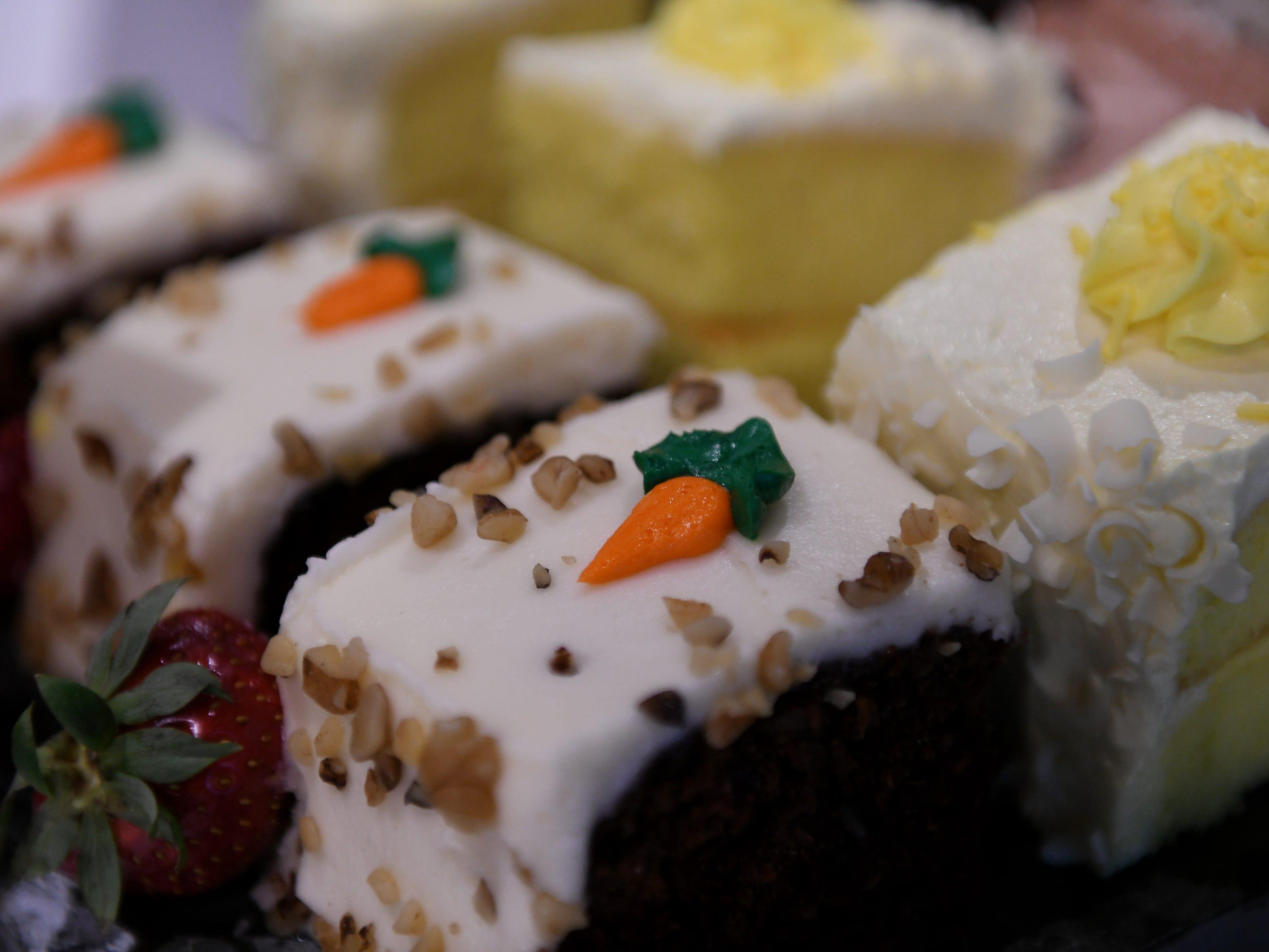 Carrot cake and lemon paradise.