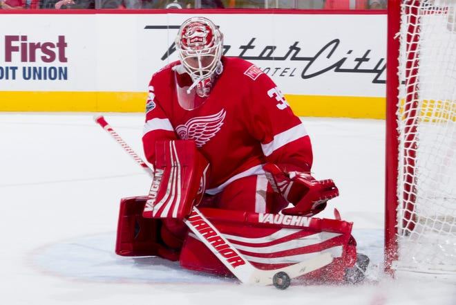 Goalie Jimmy Howard, 34, is in the last year of his contract with the Wings.