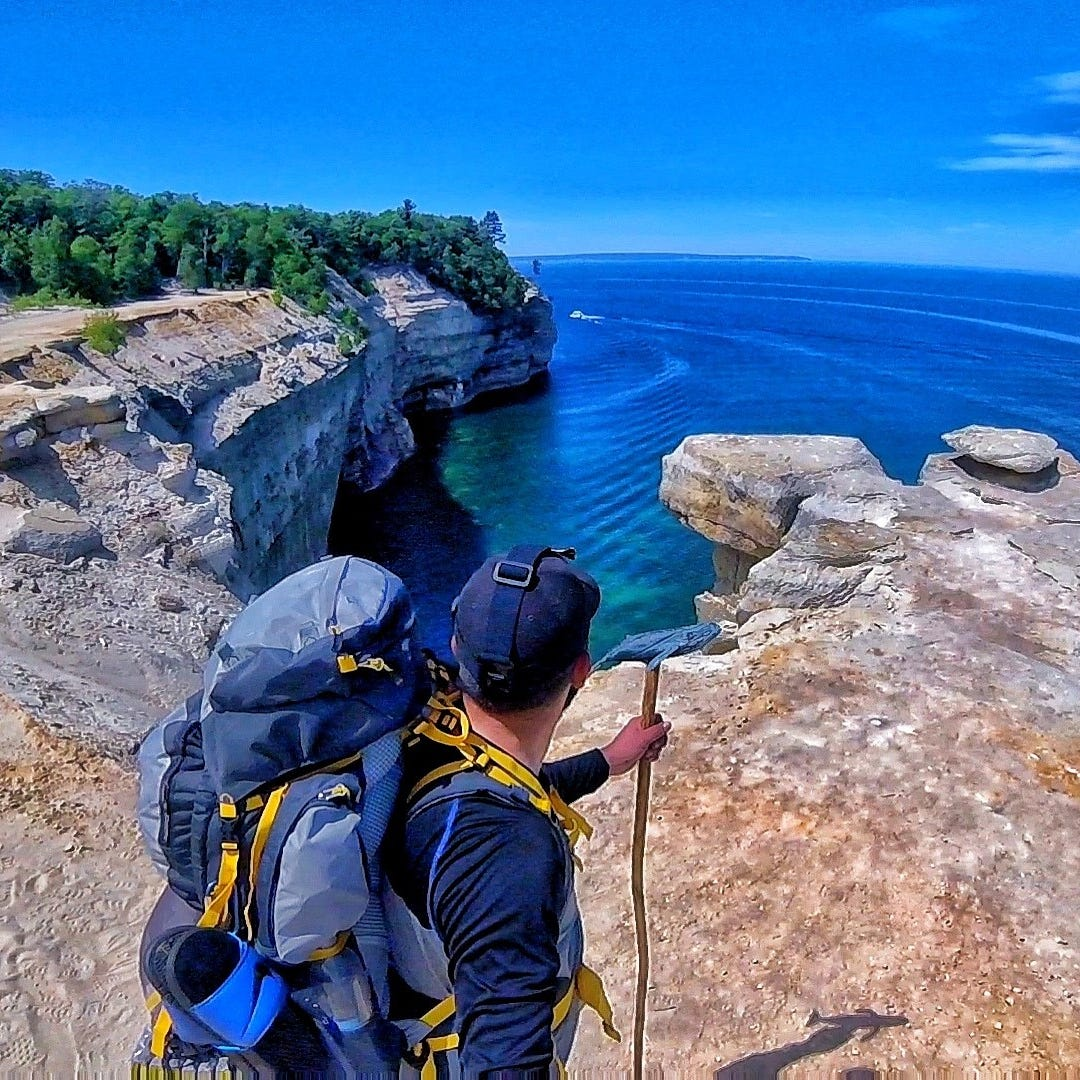 Backpacker's superior selfie makes photo contest finals