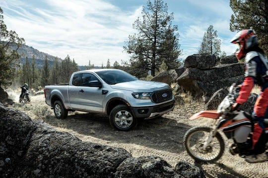 The 2019 Ford Ranger STX FX4 SuperCab