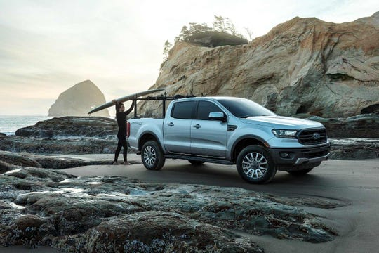 The 2019 Ford Ranger Lariat Sport SuperCrew
