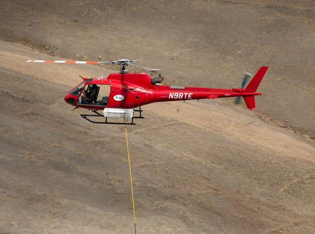 Helicopters in Colorado, Wyoming serve many purposes