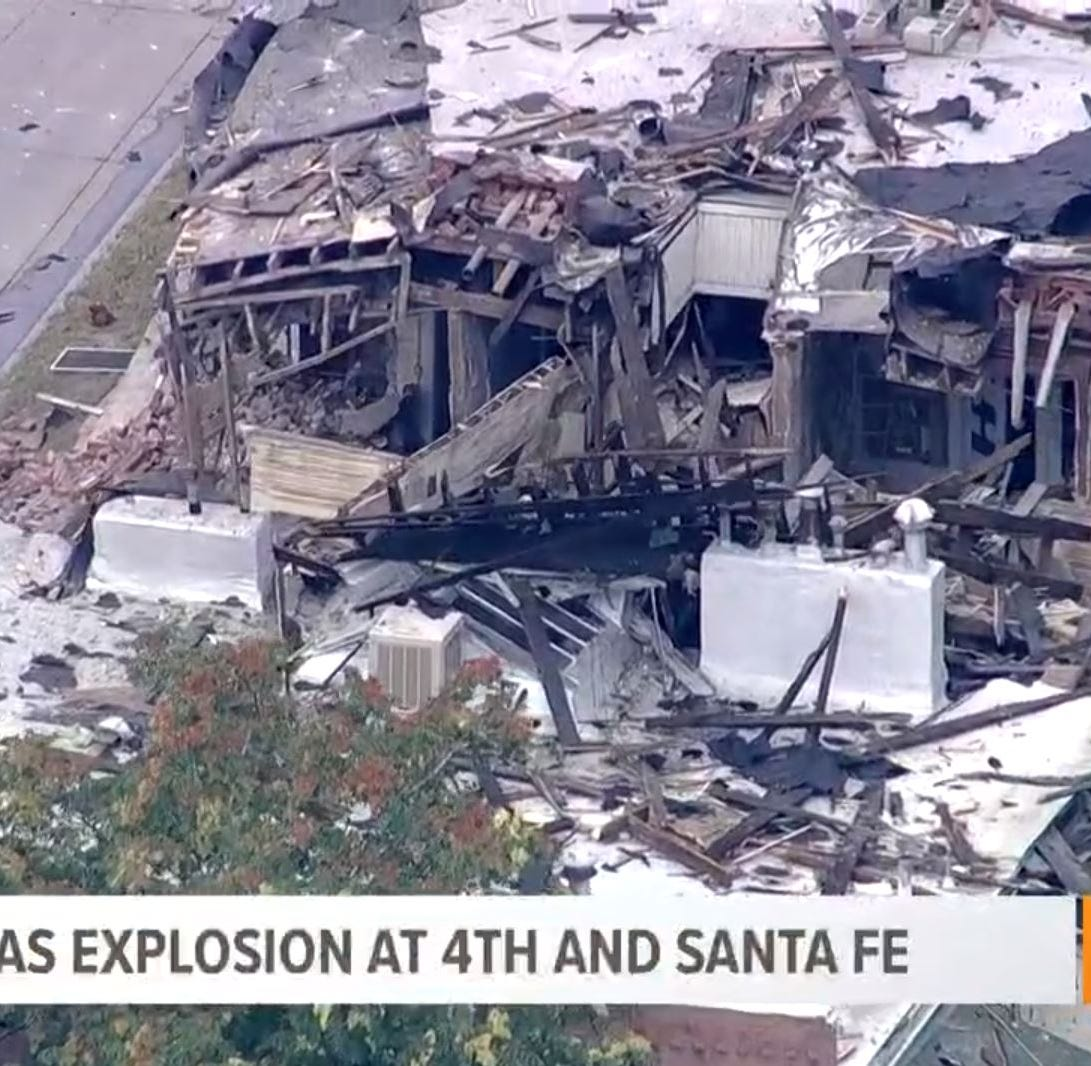 Firefighters: 10 injured in biggest home explosion in Denver in 10 years
