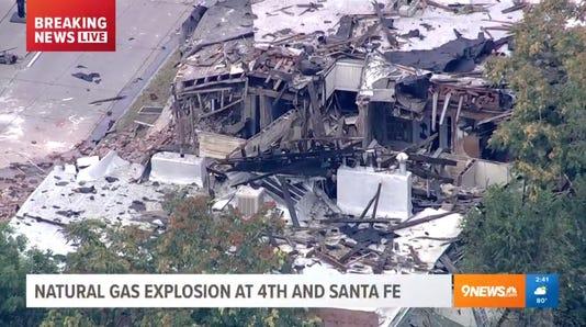 Explosion in Denver