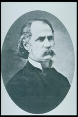 Elijah E. Edwards, the first president of Colorado Agricultural College, now CSU.