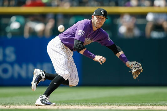Mlb Los Angeles Dodgers At Colorado Rockies #filephoto