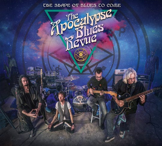 "The Apocalypse Blues Revue's second album, ""The Shape of Blues to Come,"" was released in July 2018."