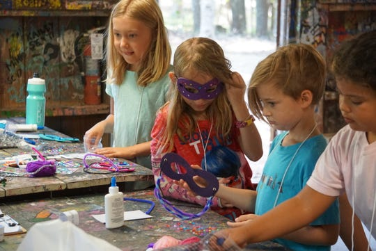 Camp Kesem offers campers traditional activities, such as arts and crafts, boating, marshmallow roasts and swimming.