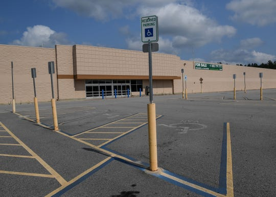 A Walmart is closed on state highway 321 bypass in Winnsboro.
